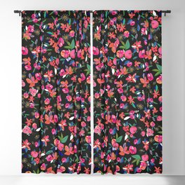 Minute Details Colorful Pretty Daisies Blackout Curtain