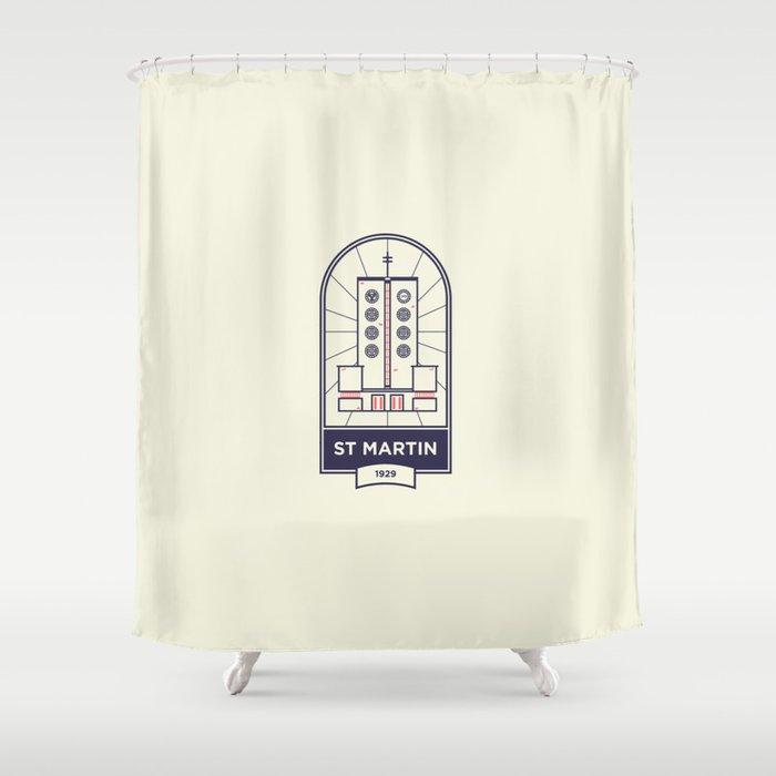 ST. MARTIN - BERLIN 1929 Shower Curtain
