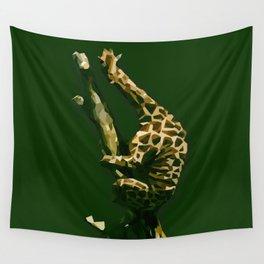 Giraffe In The Tree ?! Wall Tapestry