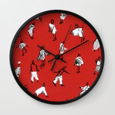 People Wall Clock