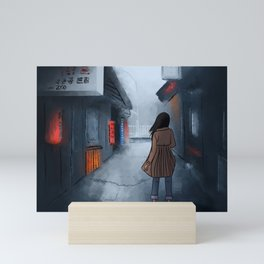 Streets of Seoul, Korea Mini Art Print