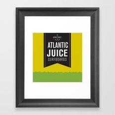 Atlantic Juice Framed Art Print