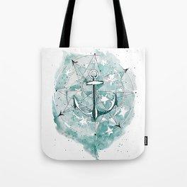 Anchor Sketch Tote Bag