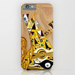 Ode to Klimt - Detail Portrait of Adele iPhone Case