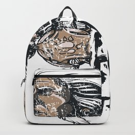 FORTUNE FAVORS THE BRAVE Backpack