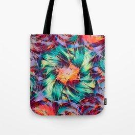 Fractal Feuille Tote Bag