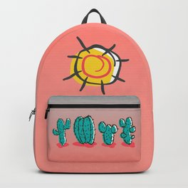 Cacti in the Hot Summer Sun Backpack
