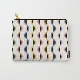 Gwynne Pattern - Retro Tones Carry-All Pouch