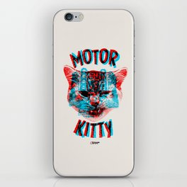 Motor Kitty iPhone Skin