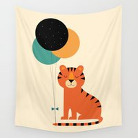 totes Wall Tapestries featuring Time To Celebrate by Andy Westface