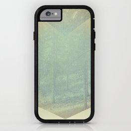 Chevron Forest iPhone Case