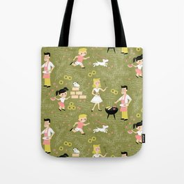Summer Family Cookout Tote Bag