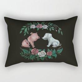 Fuck Speciesism Rectangular Pillow