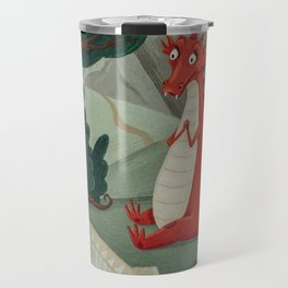 Concert of little Dragon Travel Mug