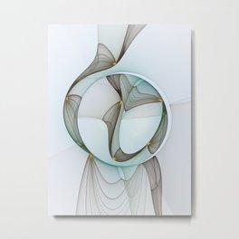 Abstract Elegance Metal Print