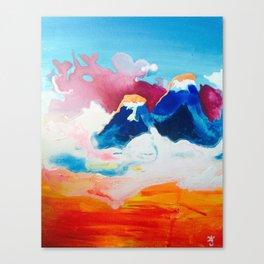 Ah Create And Destroy Canvas Print