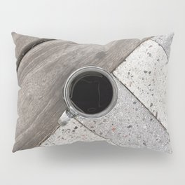 Artistic Cold Brew Shot // Wood & Stone Caffeine Pop Art Wall Hanging Coffee Shop Photograph Pillow Sham