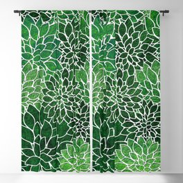 Floral Abstract 23 Blackout Curtain
