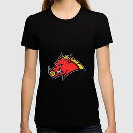 Angry Razorback Mascot T-shirt