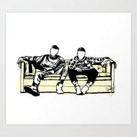 Lads Art Print