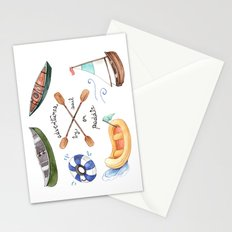 Adventures by Sail or Paddle Stationery Cards