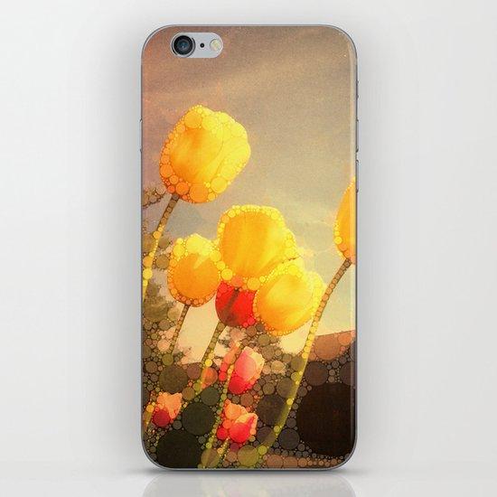 Yellow Tulips iPhone & iPod Skin