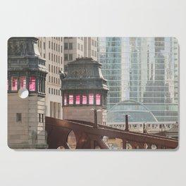 Chicago Bridges Cutting Board
