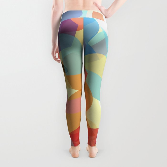 Abstract 23 Leggings