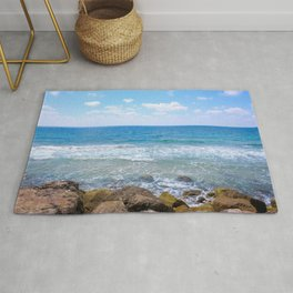 Mediterranean Sea during Daylight Rug