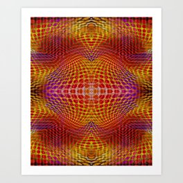 Quadro #8 Art Print