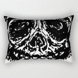 """""""Sticky Skull"""" Rectangular Pillow"""