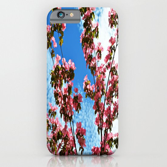 Sky/Flowers iPhone & iPod Case
