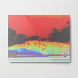 The lone mountain range pt2 Metal Print