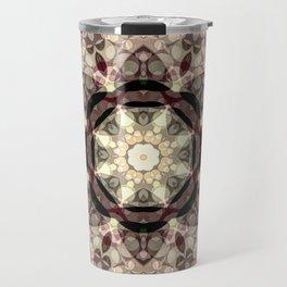 Mushroom Pastel Mandala Travel Mug