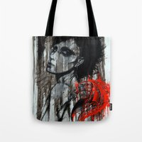 pain Tote Bags featuring Pain by Clayton Young