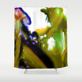 Abstract Bliss 3C by Kathy Morton Stanion Shower Curtain