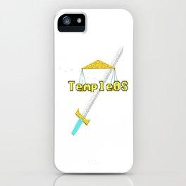 TempleOS Temple iPhone Case