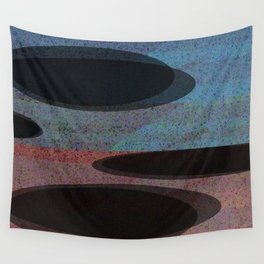 GLITTER eclipses Wall Tapestry