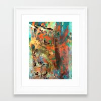 warcraft Framed Art Prints featuring Huáscar and Atahualpa by Fernando Vieira