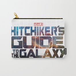 The Hitchhiker's Guide to the Galaxy | Inspired by Guardians of the Galaxy Carry-All Pouch