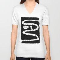 aloha V-neck T-shirts featuring Aloha by RAWR