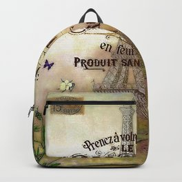 French collage Backpack