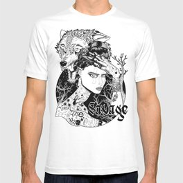Be one with the wild T-shirt