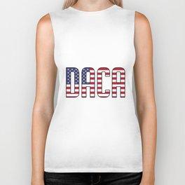 Defend DACA Dreamers Patriotic USA Political Biker Tank