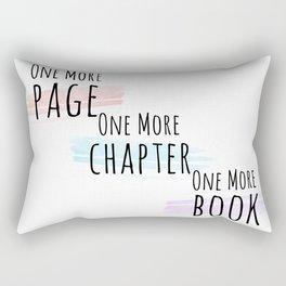 More, more, more. Rectangular Pillow