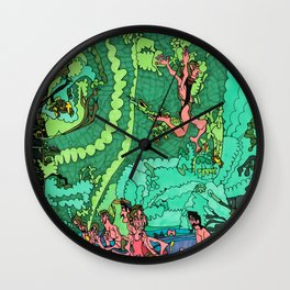 Splash Down Wall Clock