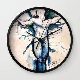Calamity Joe Wall Clock