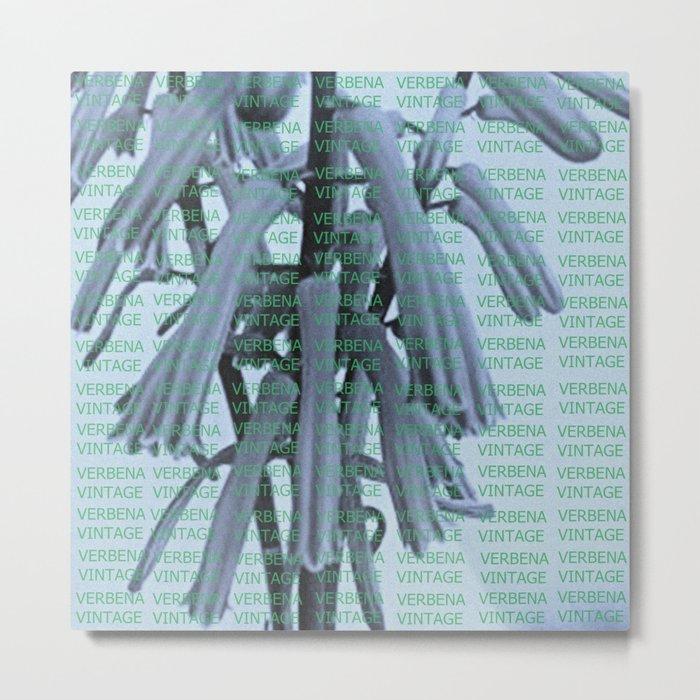 VERBENA VINTAGE Metal Print