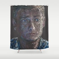 john Shower Curtains featuring John by br0-harry