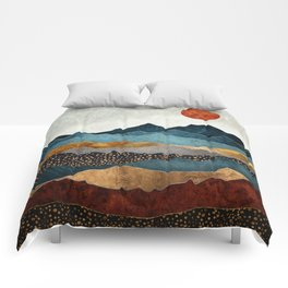 Amber Dusk Comforters